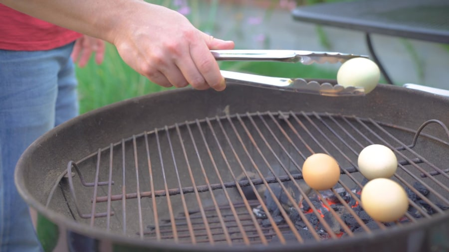 Wait, what? You can grill eggs?