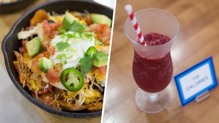 Loaded nachos, cherry slushies: Make Joy Bauer's low-calorie versions