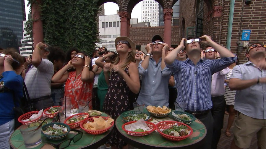 What should you do with those eclipse glasses now?