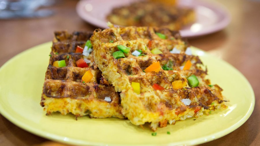 Hash brown waffles, pizza muffins: Back-to-school meals your kids will love