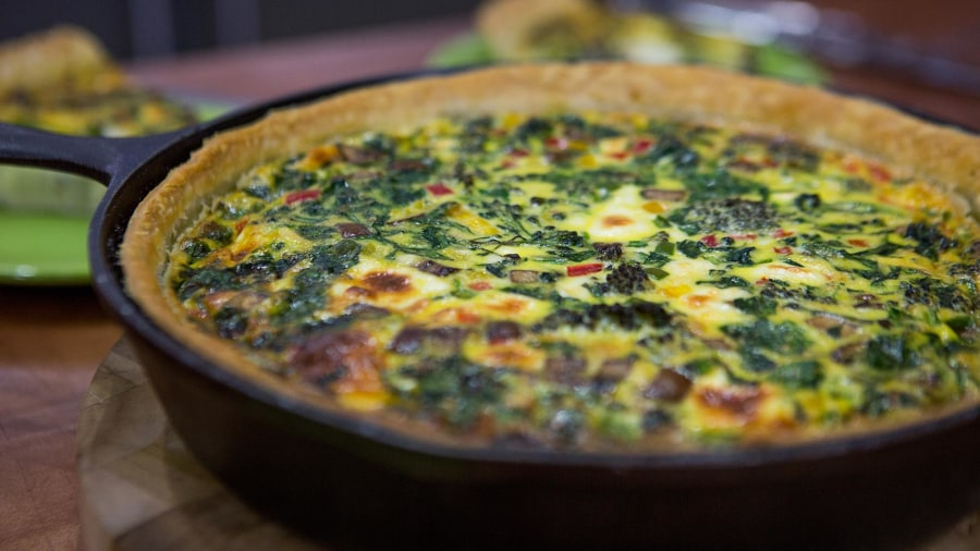 Ryan Scott makes baby vegetable quiche, baby back ribs (and a big announcement)