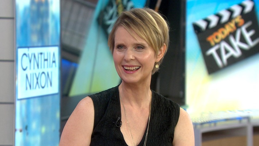 Tony Winner Cynthia Nixon Talks New Film & Possible Run for NY Governor