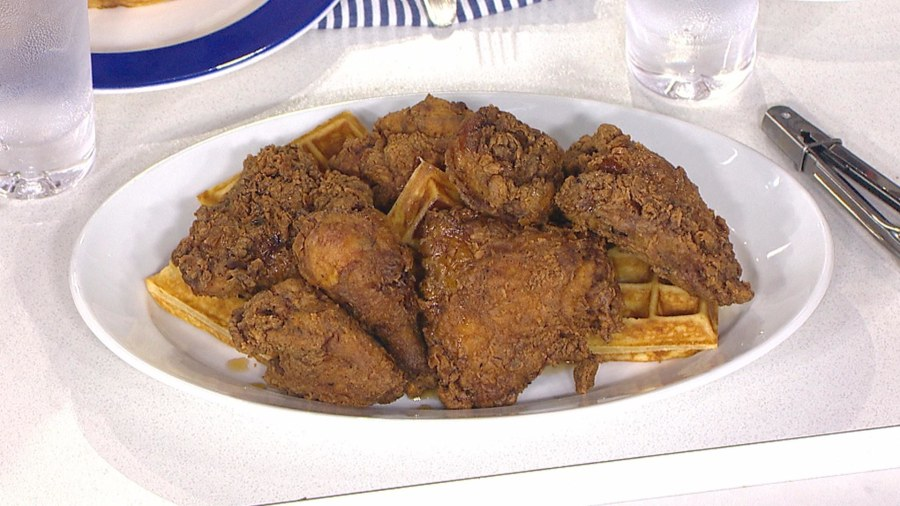 Make crispy chicken and waffles, the perfect Southern comfort food