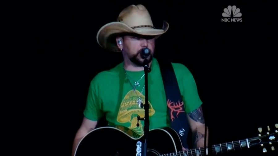Jason Aldean speaks out in first interview since Las Vegas shooting