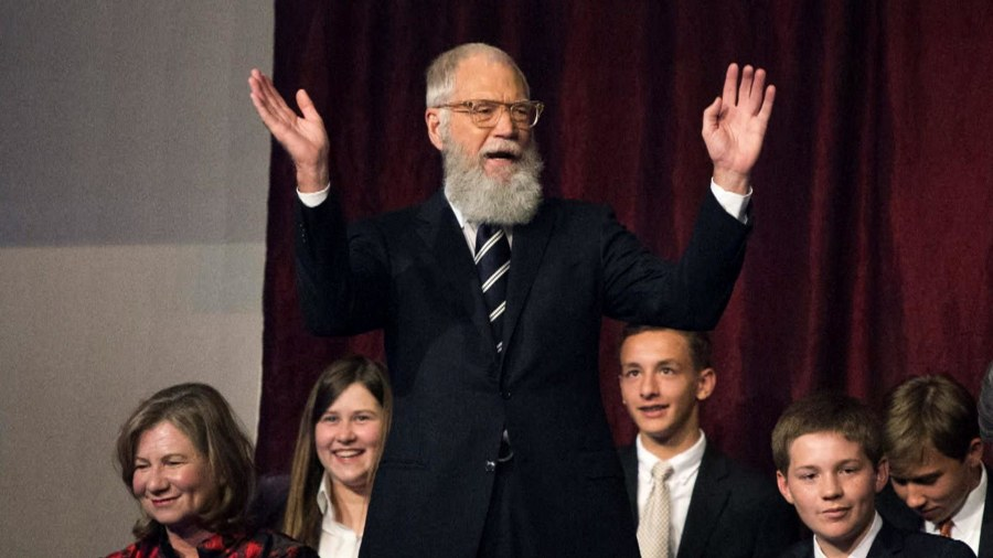 David Letterman's New Netflix Show Has Some Stellar Guests Lined Up