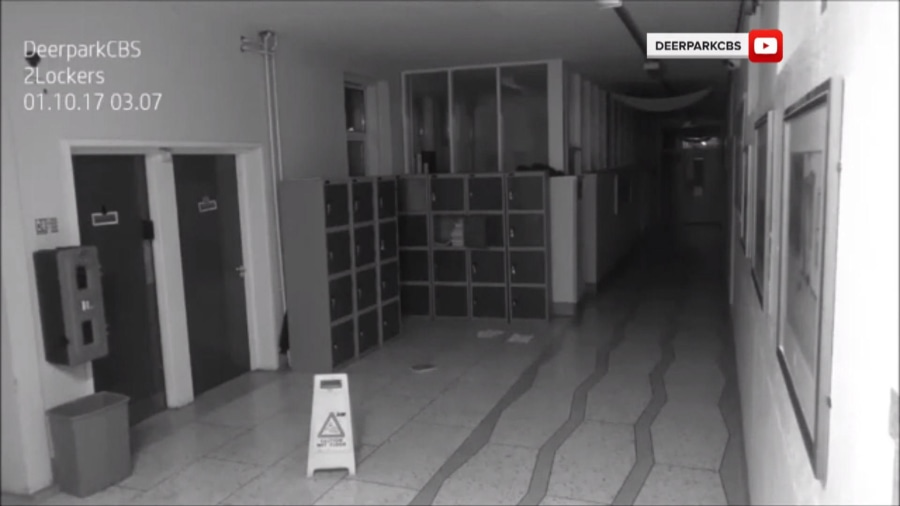 School catches another 'ghost' on camera and this one is even ...