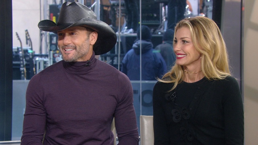 Image result for Tim McGraw and faith hill today show