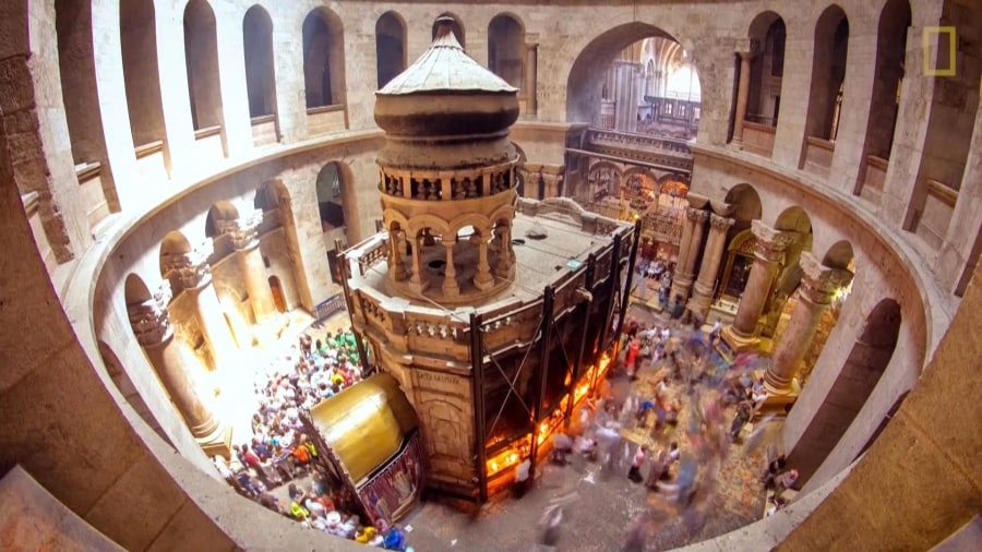 What Ancient Mortar Reveals About Jesus' Purported Tomb