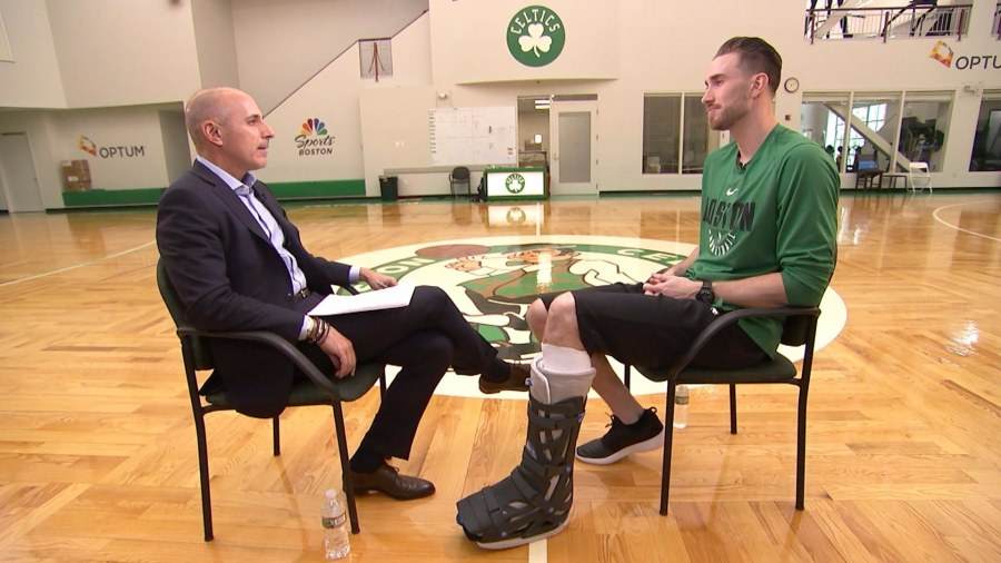 Gordon Hayward admits to having negative thoughts when watching basketball