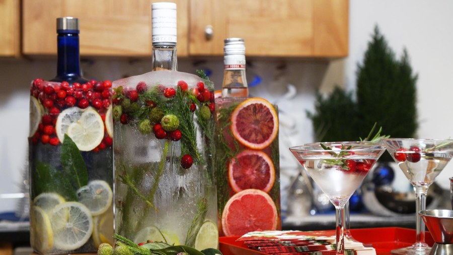 How to 'freeze' your favorite liquor