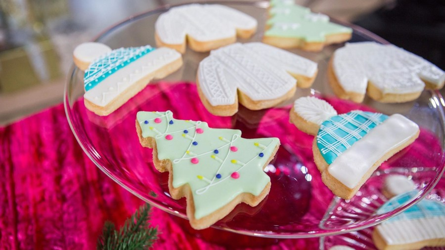 Make these delicious butter cookies for the holidays