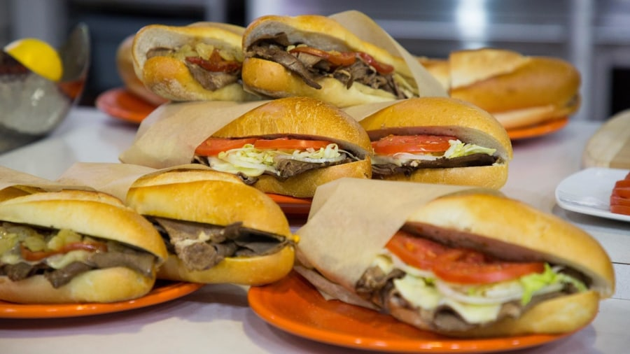 How to make a classic Philly cheesesteak with 'Whiz'