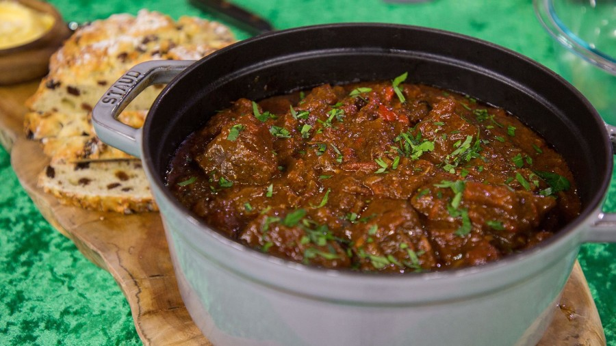 Make beef and beer stew, creamy potatoes for St. Patrick's Day