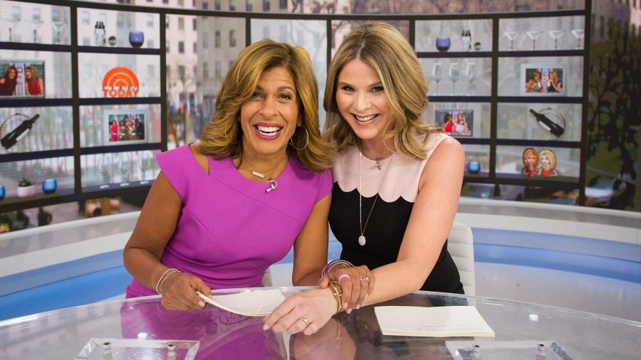Hoda Kotb and Jenna Bush Hager celebrate National Pretzel Day