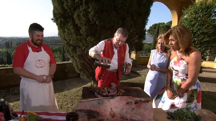 Watch an Italian butcher make a delicious Florentine steak