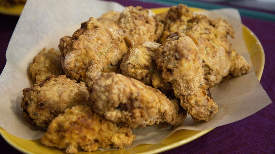 Learn to make fried chicken, spicy sweet potatoes Southern-style
