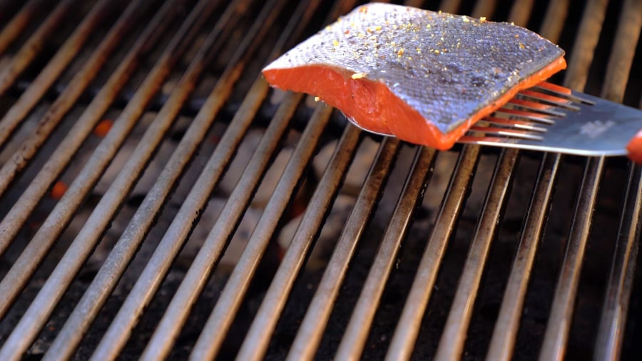 How to grill fish with perfectly crispy skin, every time