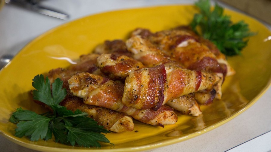 bacon wrapped chicken tenders today com