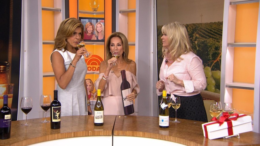 Steal or splurge? KLG and Hoda see if they can sniff out expensive wines