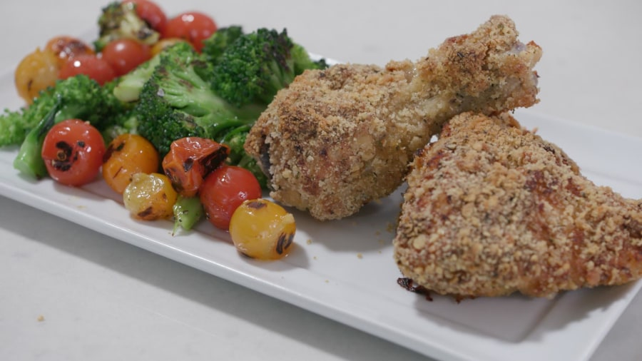 Joy Full Eats: Fried chicken gets a healthy makeover with this crispy, oven-baked dish