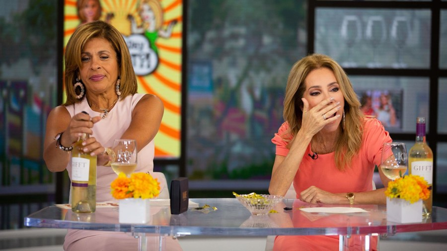 Kathie Lee and Hoda share Wine Condoms, a way to save your vino