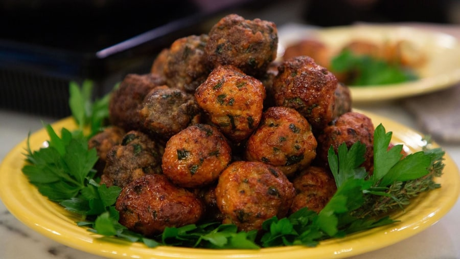 Sebastian Maniscalco shares his favorite meatball recipes