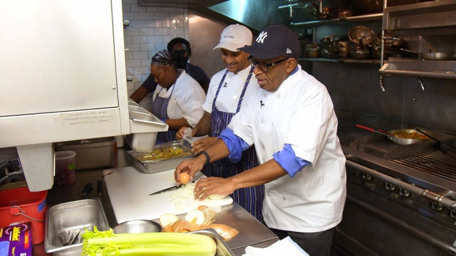 Al Roker fulfills childhood dream of becoming a chef