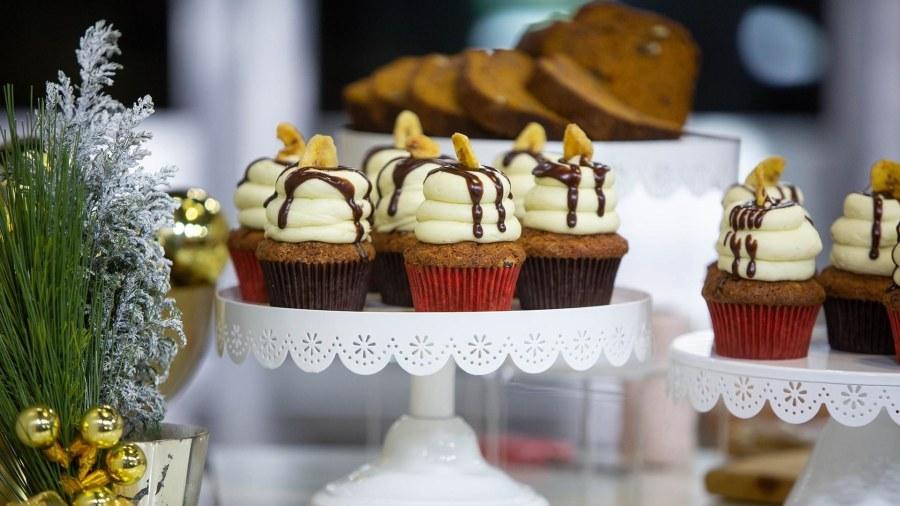 Gigi Butler makes her famous banana cupcakes