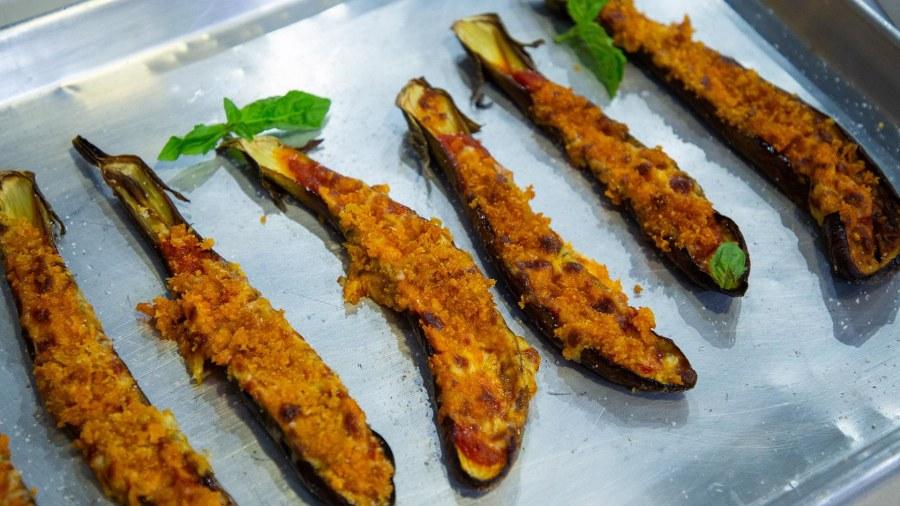 Giada De Laurentiis shares her healthy eggplant Parm recipe