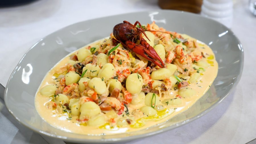 Make Tory McPhail's truffled crawfish gnocchi