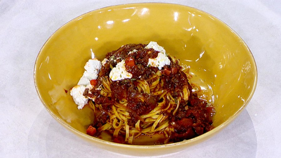 Spaghetti two ways: Try these tonight!