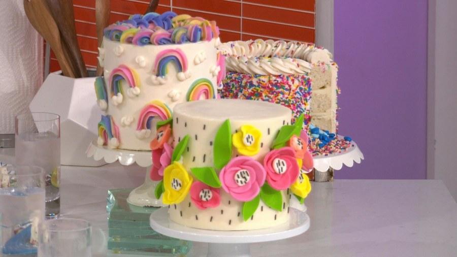 Lemon Flower Cake
