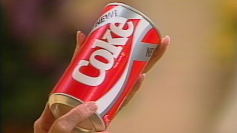New Coke revealed on TODAY in 1985