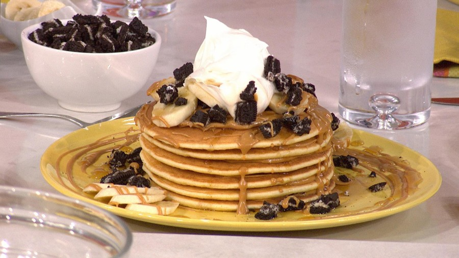 Make Sunny Anderson's super-simple pancakes