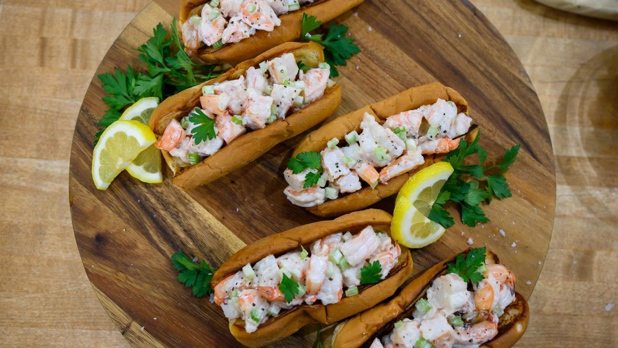 Make summer shrimp rolls that are just as tasty as lobster