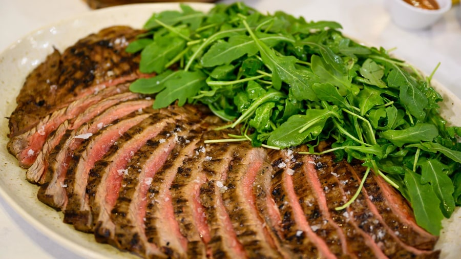 Summer dinner recipe: Make Matt Abdoo's grilled steak