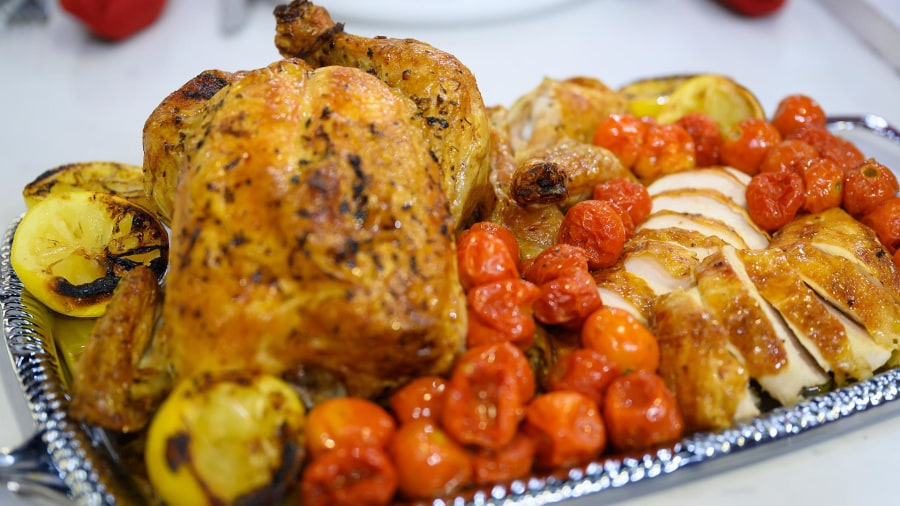 Make Alex Hitz's 'perfect' roast chicken