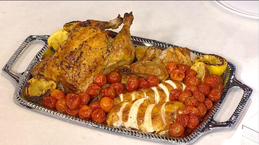 Make Alex Hitz's 'perfect' roast chicken