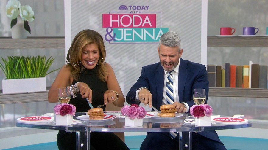 Hoda and Andy try KFC's doughnut chicken sandwich