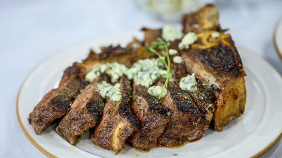 Bobby Flay shares his steakhouse-style dinner recipes