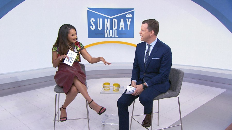 What would be in a sandwich named for Willie Geist and Morgan Radford?