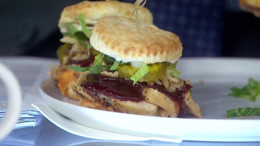 Where to get Al Roker's Southern chicken biscuit sliders