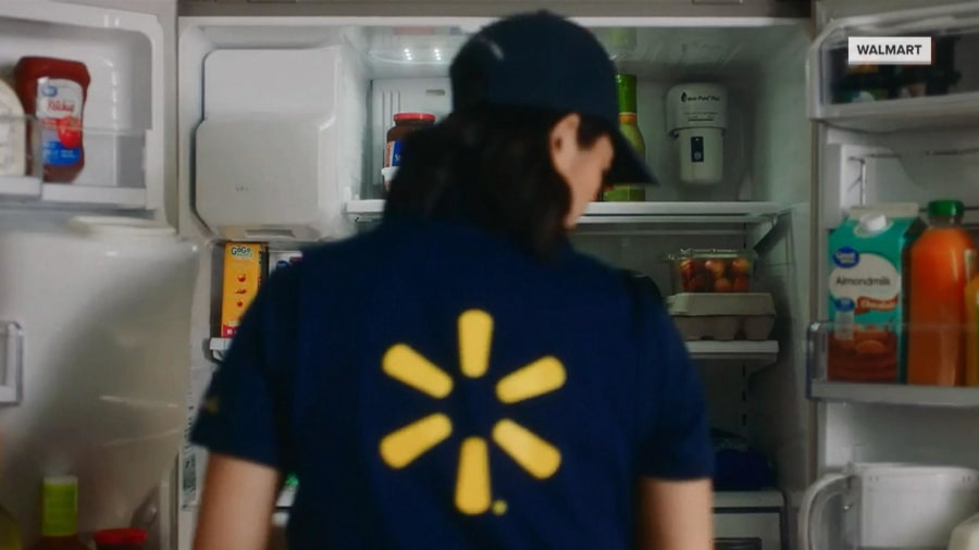 Walmart will now deliver groceries right to your fridge