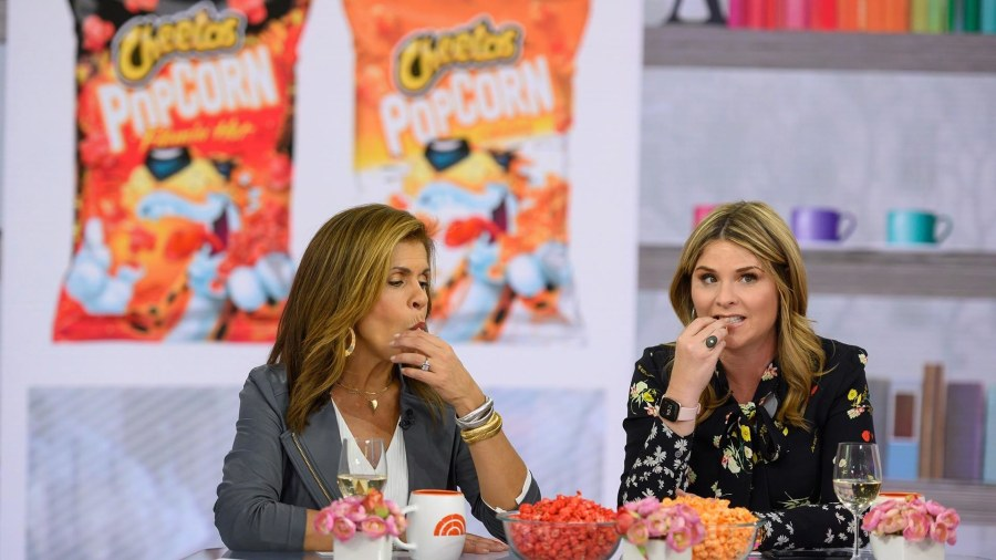 Hoda and Jenna try the new Cheetos popcorn