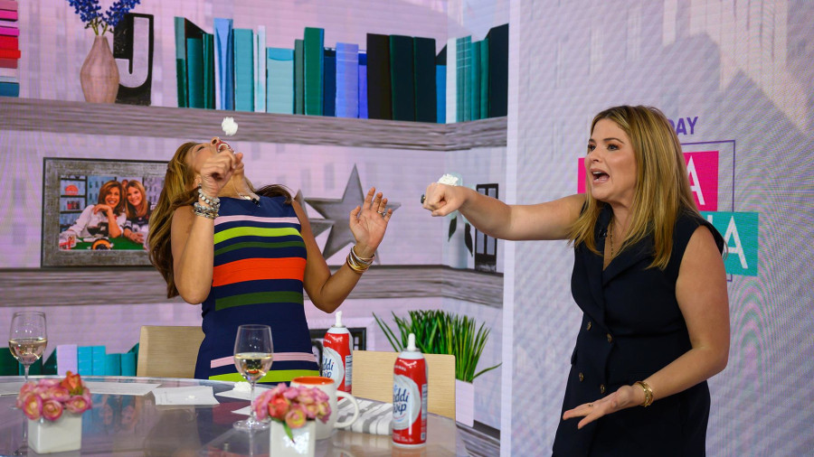 Hoda Kotb nails the viral whipped cream challenge
