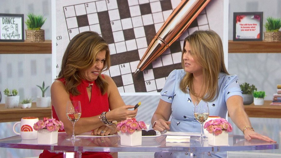 Oreos with mustard? Hoda and Jenna try the odd combo