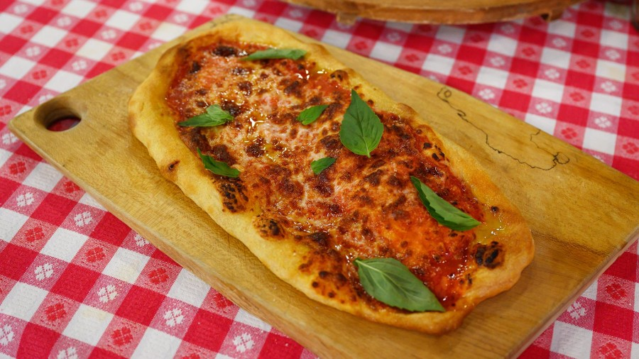 Pinsa is the latest thing in pizza, and Anthony Scotto shows how to make it
