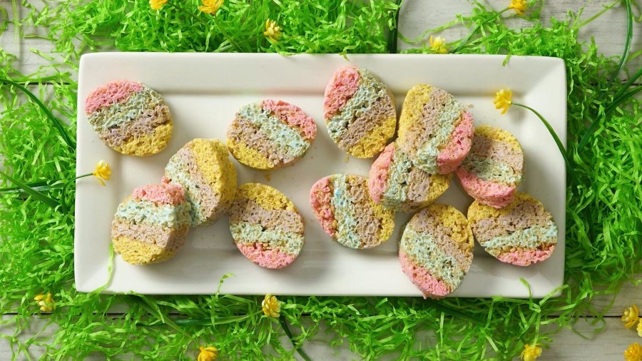 Take your Easter eggs to the next level with this colorful treat