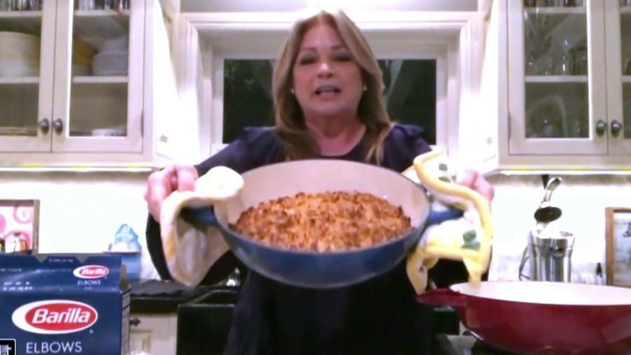 Make Valerie Bertinelli's comforting tuna noodle casserole