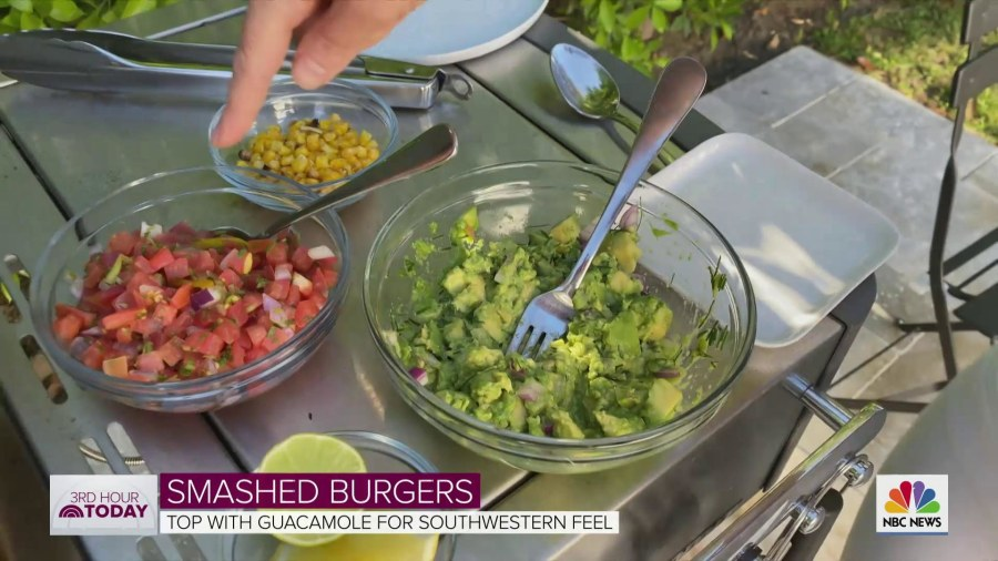 Make smashed burgers for Memorial Day: Chef Gaby Dalkin shows how